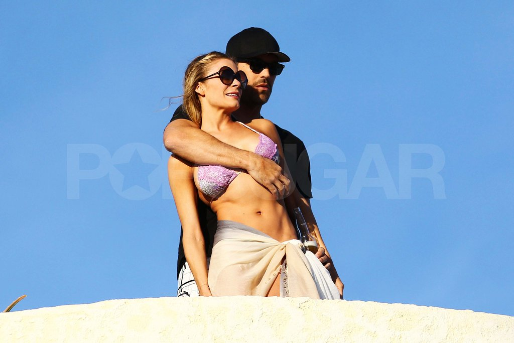 LeAnn Rimes in a bikini with Eddie Cibrian.