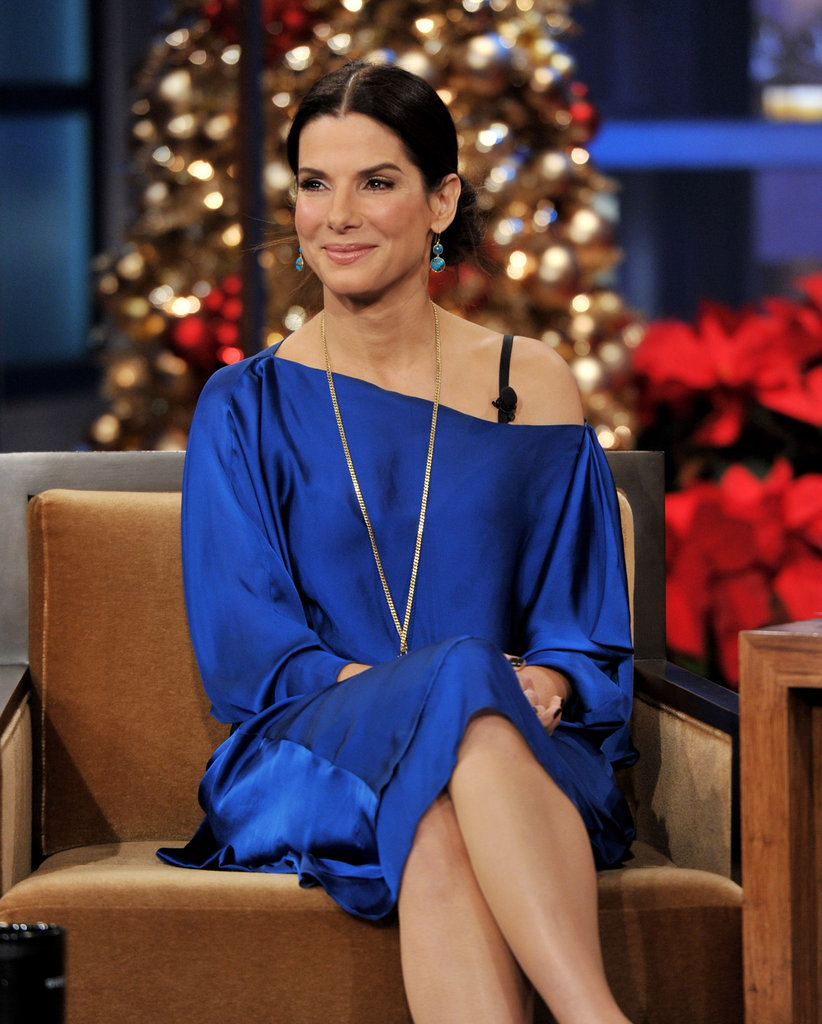 Sandra Bullock glowed as a guest on The Tonight Show With Jay Leno.