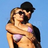 LeAnn Rimes in Mexico with Eddie Cibrian.