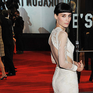 See Rooney Mara's Entire Girl with the Dragon Tattoo Press Tour Wardrobe! From Givenchy to Miu Miu to Prabal Garung
