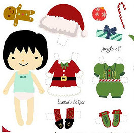 Free Christmas Printable Decor and Activities For Kids