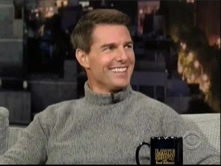 Video: Tom Cruise Talks Relaxing on the Late Show