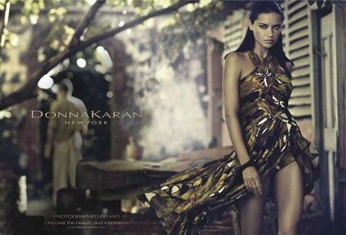 Donna Karan Spring 2012 Ad Campaign
