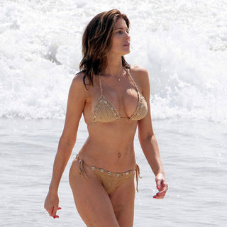 Stephanie Seymour Bikini Pictures in St. Barts