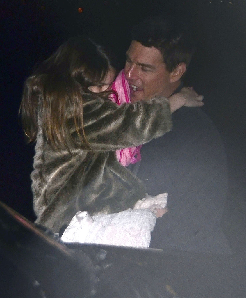 Tom Cruise talked to Suri Cruise.