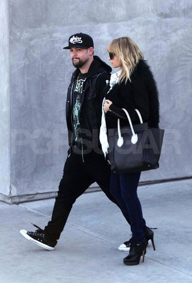 Nicole Richie Picks Up Ultraluxe Holday Gifts With Joel Madden