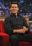 Tom Cruise promoted Mission: Impossible – Ghost Protocol in NYC.