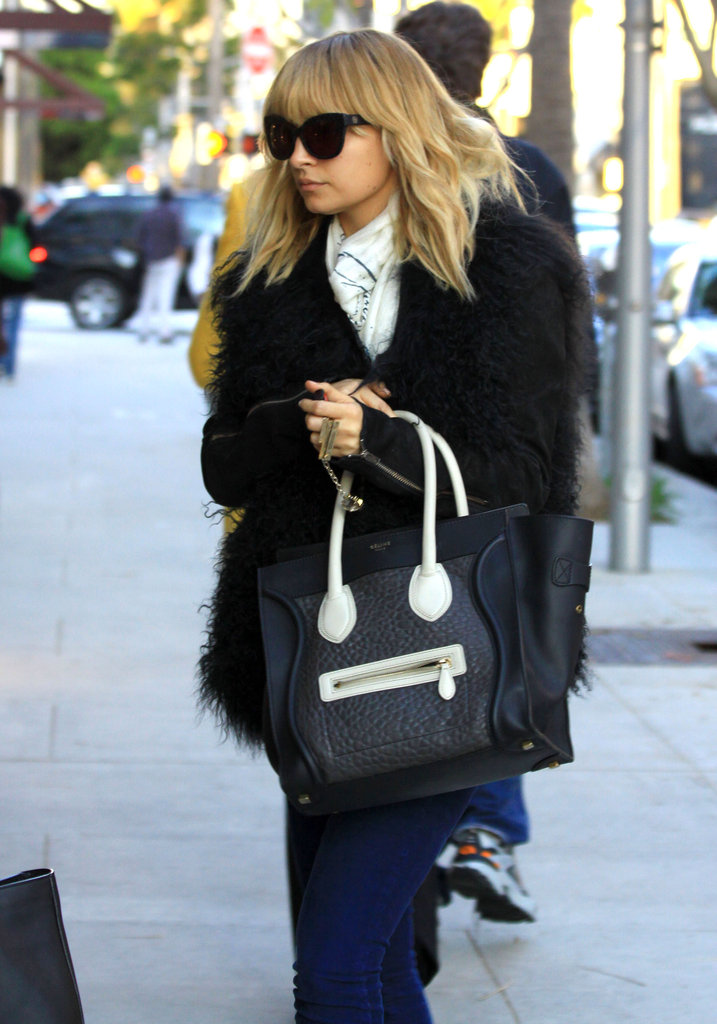 Nicole Richie was ready to shop.