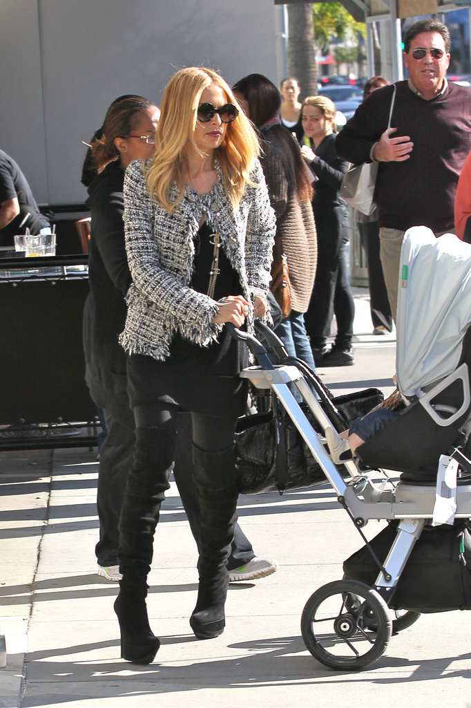 Rachel Zoe took Skyler out for the day in LA.