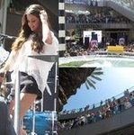 Selena Gomez Performance at Santa Monica Place