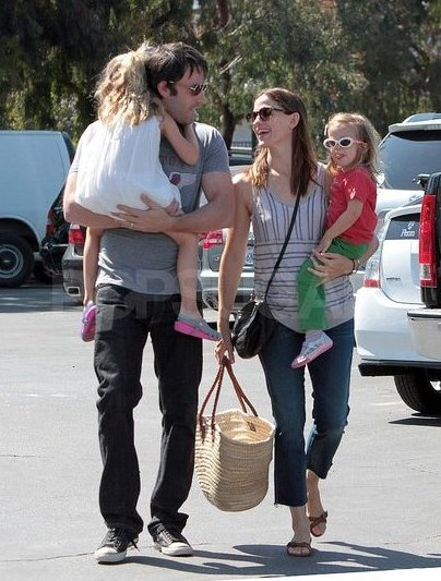 Favorite Celebrity Family: Garner-Afflecks