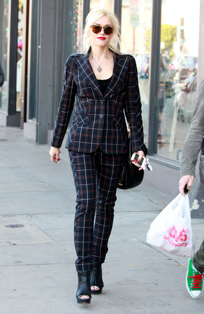 Gwen Stefani ran errands in LA.