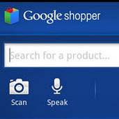 Google Product Price Comparison Phone App
