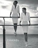 Chanel's 2012 Spring ad campaign takes on black and white timelessness. Source: Fashion Gone Rogue