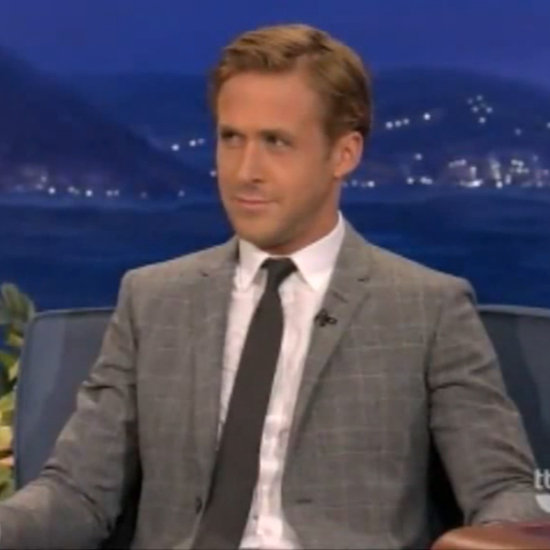 Did we mention he's humble? Ryan told Conan he couldn't compete with him in bed — the talk show host wins every time. (Somehow we find that hard to believe . . .)