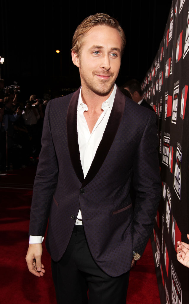 Ryan shows a little chest at the Critics' Choice Movie Awards.