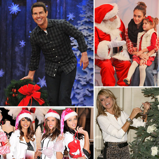 Merry Christmas — See Stars Get in the Holiday Spirit!