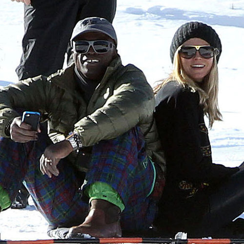 Heidi Klum and Family in Aspen Pictures
