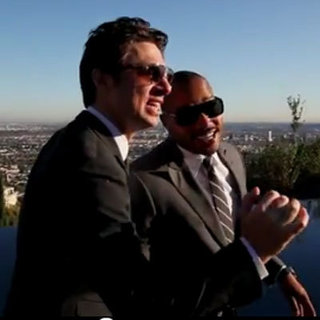 "Zach Braff and Donald Faison Sing ""Baby It's Cold Outside"""