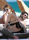 Mischa Barton was all smiles in Miami.