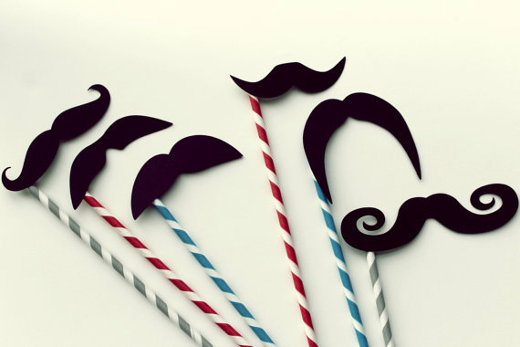 These cheeky straws are sure to be the talk of the party. Carnival Paper Straw Mustaches ($24)
