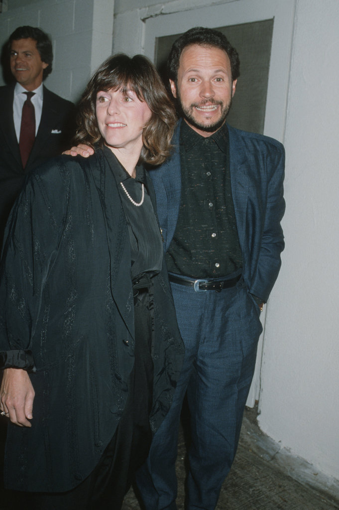 Married since 1970, Billy Crystal and wife Janice are coupled up at Billy Wilder's 1987 New Year's Eve party at Spago's in West Hollywood.