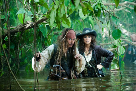 5. Pirates of the Caribbean: On Stranger Tides
