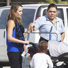 Jessica Alba Mexico Vacation Pictures With Honor and Haven