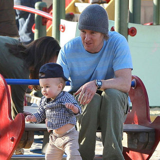 Owen Wilson Jade Duell Pictures With Robert Ford Wilson in LA