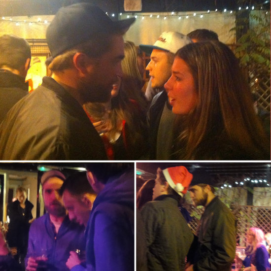 See Robert Pattinson's Christmas Eve Pub Night With Pals