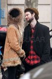 Tom Sturridge and Sienna Miller shared a look of love.