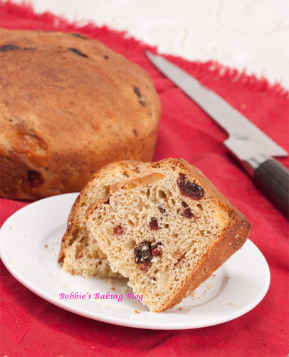 Panettone with Rum Soaked Glac Fruit