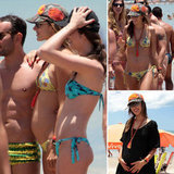 Pregnant Alessandra Ambrosio Hits the Beaches in Brazil With Her Baby Bump