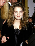 A young Drew Barrymore attended the 1987 ceremony.