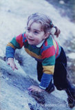 Three-year-old Kate Middleton climbed a hill at the Lake District in Northwest England.   © The Middleton Family, 2011. All rights reserved.