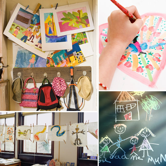 Organize Your Life: 5 Tips For Organizing Your Kids' Artwork