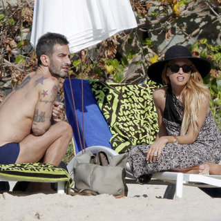Rachel Zoe Beach Pictures With Tamara Mellon in a Bikini