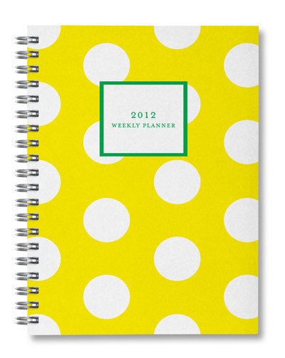 This Polka Dot Weekly Planner ($20) would add an element of cheery prep to any desk.
