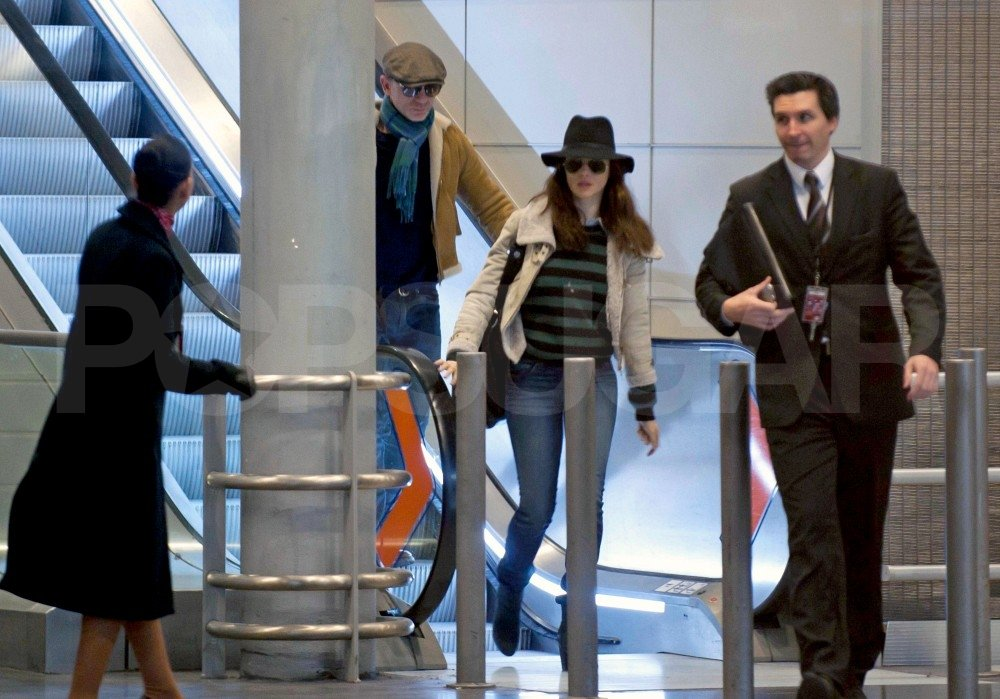 Rachel Weisz and Daniel Craig arrived in France.