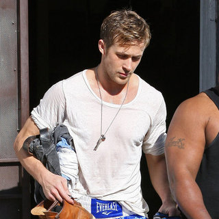 Ryan Gosling Leaving Martial Arts Training Pictures in LA