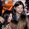 Ashton Kutcher With Brunette in Greece Pictures