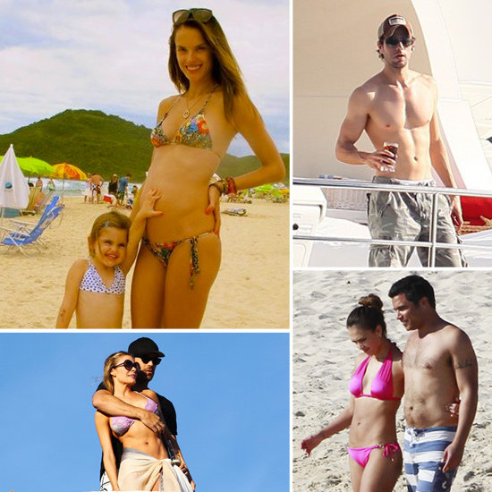 See All the Shirtless and Bikini-Clad Stars on Their Hot Holiday Vacations!
