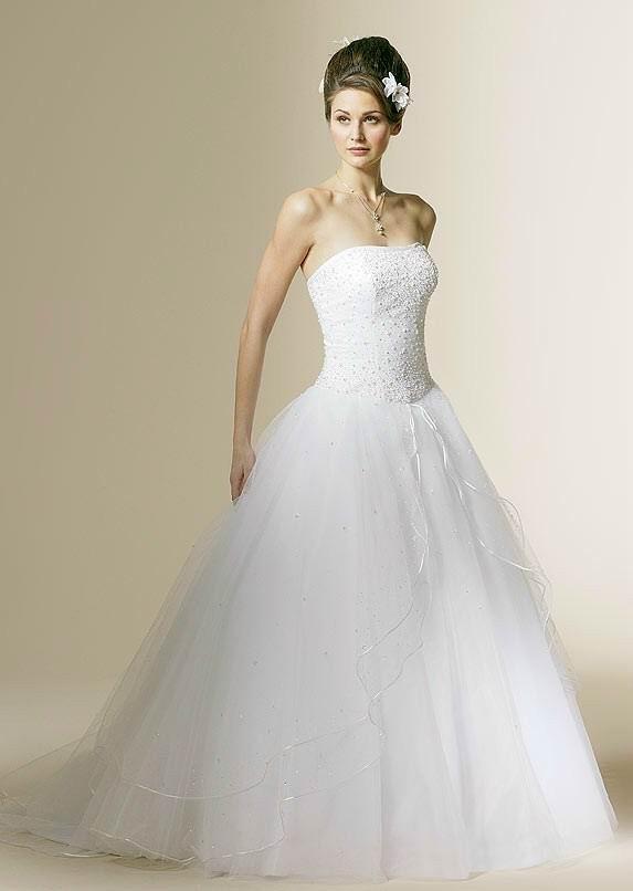 Strapless Ball Gown Wedding