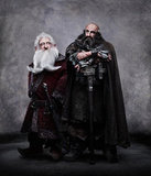 Ken Stott as Balin and Graham McTavish as Dwalin in The Hobbit: An Unexpected Journey.