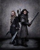 Dean O'Gorman as Fili and Aidan Turner as Kili in The Hobbit: An Unexpected Journey.