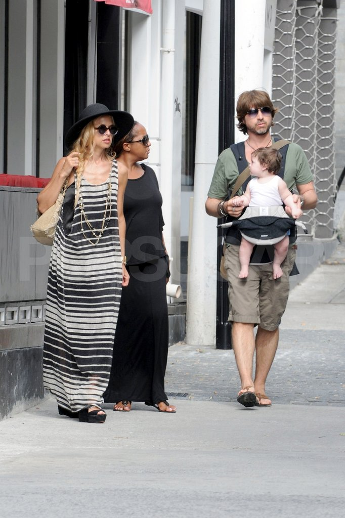 Rachel Zoe, Rodger Berman, and Skyler Berman shopped in St. Barts.