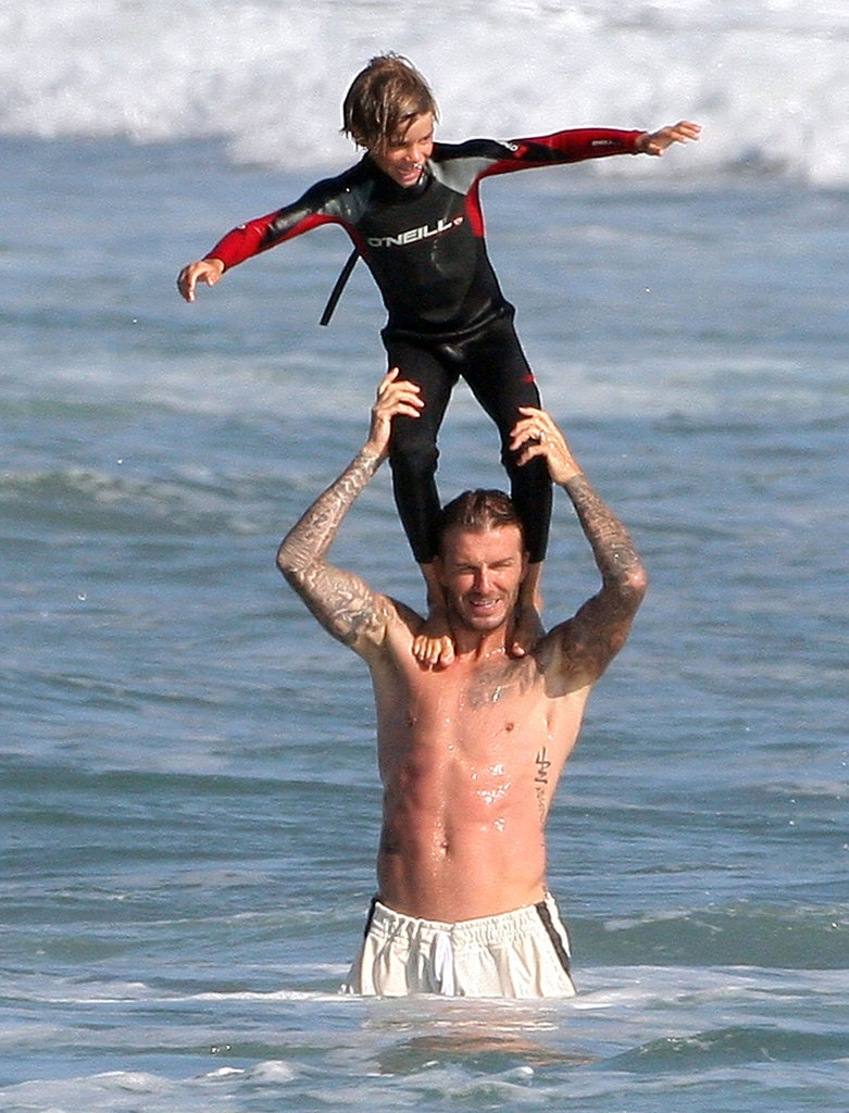 The Beckham boys were a 2011 Summer staple in the Malibu waves.