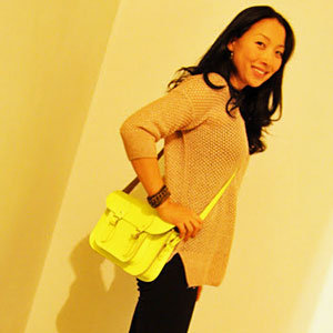 Neon Cambridge Satchel Street Style