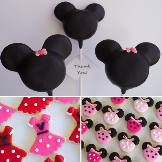 Minnie Mouse Birthday Sweets