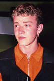 A fresh-faced JT makes an appearance at an *NSYNC showcase in London in 1997.